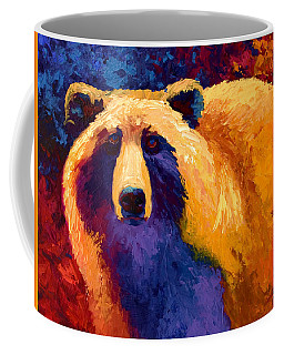 Abstract Grizz II Coffee Mug