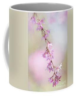 Abstract Higan Chery Blossom Branch Coffee Mug