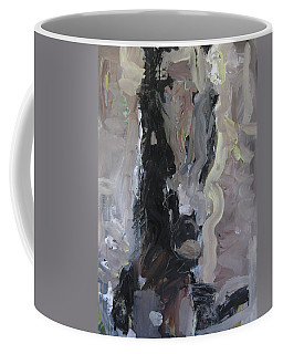 Abstract Horse Painting Coffee Mug