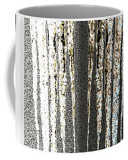 Abstract Icicles Coffee Mug by Will Borden