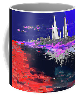 Abstract  Images Of Urban Landscape Series #14 Coffee Mug