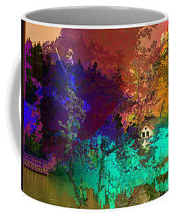 Abstract  Images Of Urban Landscape Series #4 Coffee Mug