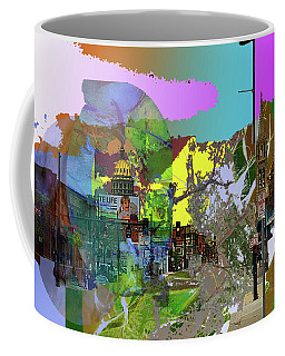 Abstract  Images Of Urban Landscape Series #5 Coffee Mug