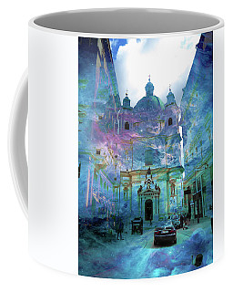 Abstract  Images Of Urban Landscape Series #9 Coffee Mug