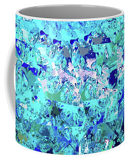 Abstract In Blue No. 56-2 Coffee Mug