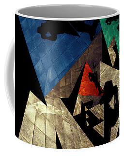 Coffee Mug featuring the photograph Abstract Iterations by Wayne Sherriff
