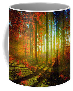 Abstract Landscape 0745 Coffee Mug