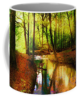 Abstract Landscape 0747 Coffee Mug