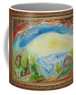 Abstract Landscape Coffee Mug