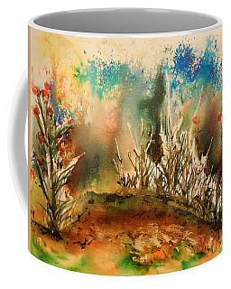 Abstract Landscape Coffee Mug by Betty-Anne McDonald