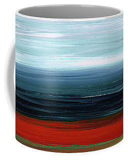 Abstract Landscape - Ruby Lake - Sharon Cummings Coffee Mug