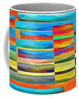 Abstract Lines And Shapes 2 Coffee Mug
