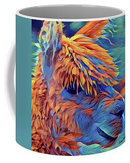 Abstract Llama Coffee Mug