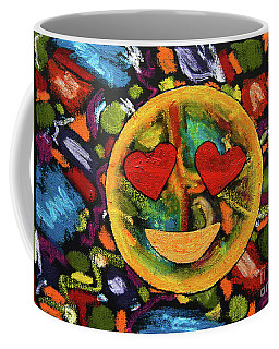 Abstract Love Coffee Mug
