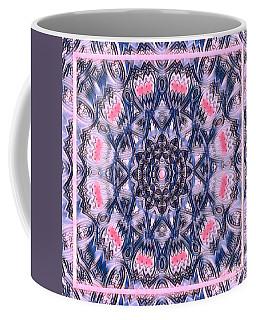 Abstract Mandala Pattern Coffee Mug