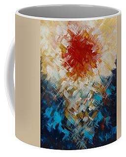 Abstract Blood Moon Coffee Mug