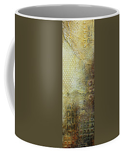 Abstract Modern Art Earth Tones Coffee Mug by Patricia Lintner