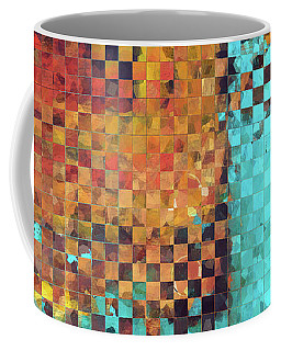 Abstract Modern Art - Pieces 1 - Sharon Cummings Coffee Mug