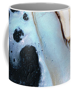 Coffee Mug featuring the painting Abstract Modern Art - The Vessel - Sharon Cummings by Sharon Cummings