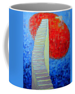 Abstract Moon Coffee Mug by Ana Maria Edulescu