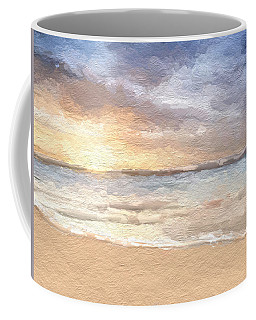 Abstract Morning Tide Coffee Mug by Anthony Fishburne