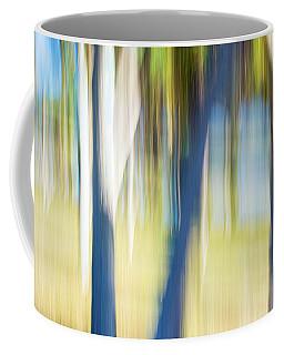 Abstract Moving Trees 30 Coffee Mug