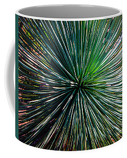 Abstract Nature Desert Cactus Photo 207 Blue Green Coffee Mug