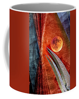 Abstract On Moon Coffee Mug