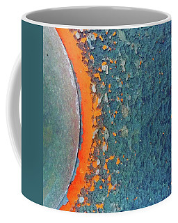 Abstract #orange #curve #abstract Coffee Mug