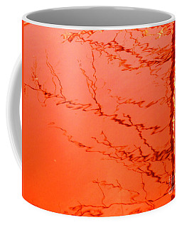Abstract Orange Coffee Mug