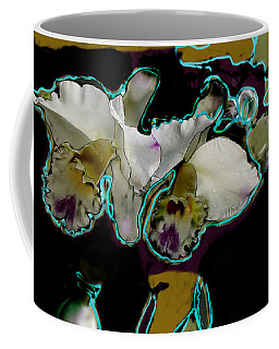 Abstract Orchids Coffee Mug