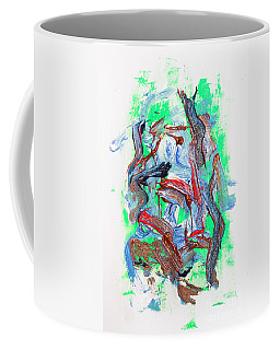 Abstract Painting. Division Is Their Narrative Coffee Mug
