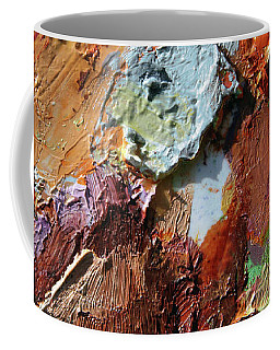 Abstract Palette 1-2017 Coffee Mug