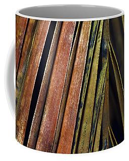 Abstract Palm Frond Coffee Mug