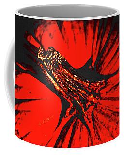 Abstract Pumpkin Stem Coffee Mug
