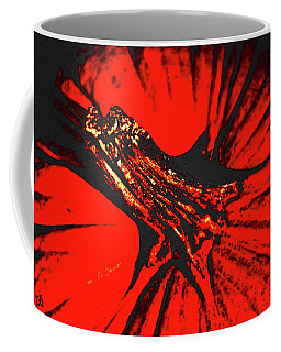 Abstract Pumpkin Stem Coffee Mug