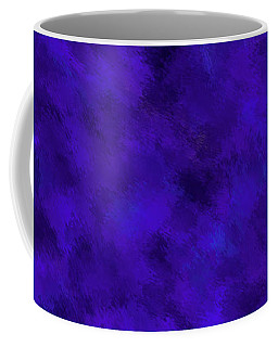 Coffee Mug featuring the photograph Abstract Purple 7 by Clare Bambers
