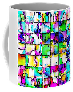Abstract Quilt Coffee Mug
