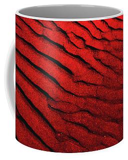 Abstract Red Sand- 2 Coffee Mug