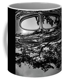 Abstract Reflection Bw Sq II - Vehicle Coffee Mug