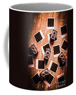 Abstract Retro Camera Background Coffee Mug