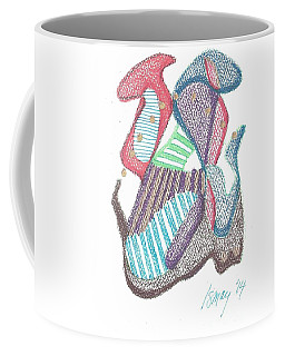 The Juggler Coffee Mug