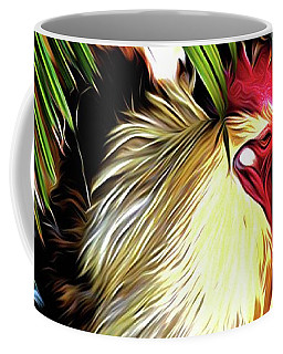 Abstract Rooster 14 Coffee Mug