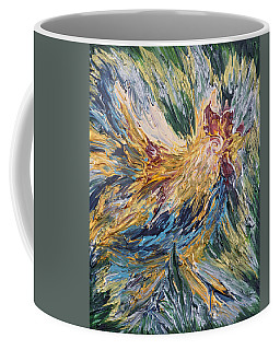 Abstract Guam Rooster Coffee Mug