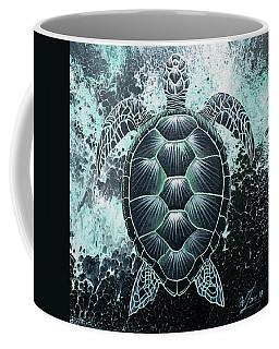 Abstract Sea Turtle Coffee Mug