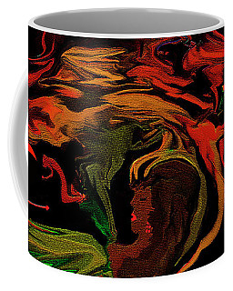 Abstract Shall We Awaken Her Coffee Mug