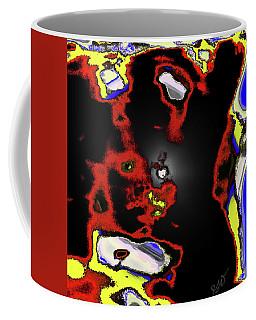 Abstract Shell Creature Coffee Mug by Gina O'Brien