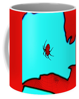 Abstract Spider Coffee Mug