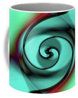 Abstract Spiral Staircase Coffee Mug