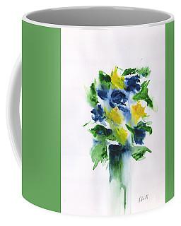 Abstract Still Life Flowers Coffee Mug
